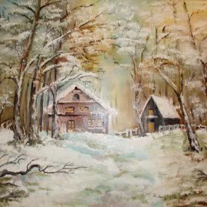 iarna-in-padure