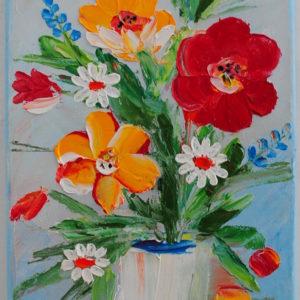 panou-decorativ-cu-flori