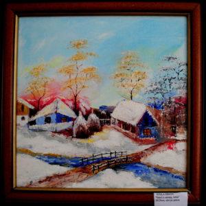 satul-in-amurg-iarna