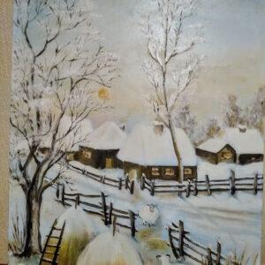 iarna cu oi